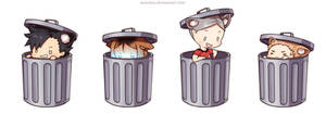 Haikyuu!! Nekoma Trash Dump by Suncelia