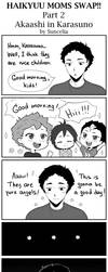 Haikyuu moms swap!! Akaashi in Karasuno by Suncelia