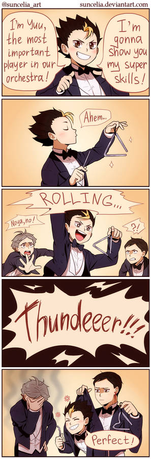 Haikyuu!! Orchestra AU: The Most Important Player