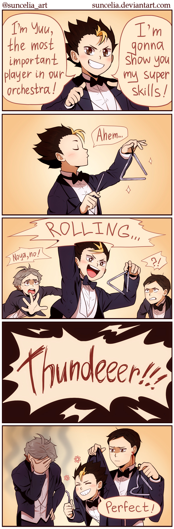 Haikyuu!! Orchestra AU: The Most Important Player by Suncelia