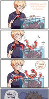 BNHA: Feeding Shoji the octopus