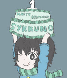 Happy Birthday Sykkuno! by Owlxie