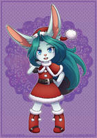 Commission: Santa Baby by padfootlet