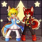 Commission: Lets Duet by padfootlet