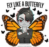 Fly Like a Butterfly by padfootlet