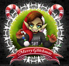 Merry GLiTcHMaS: Coffee Bean Edition by padfootlet