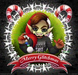 Merry GLiTcHMaS: Coffee Bean Edition v2 by padfootlet