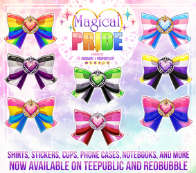 Magical Pride by padfootlet