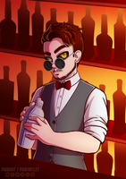 [+Speedpaint] Jagermeister by padfootlet