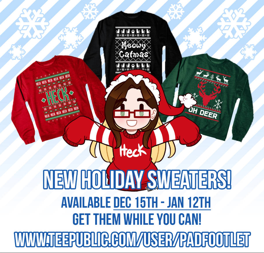 Super Late Holiday Sweaters! by padfootlet