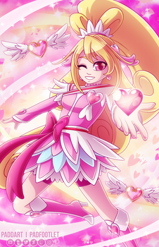 [+Speedpaint] Cure Heart