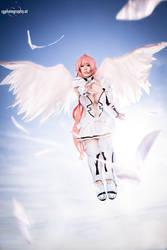 Ikaros Angeloid cosplay by Itakichan