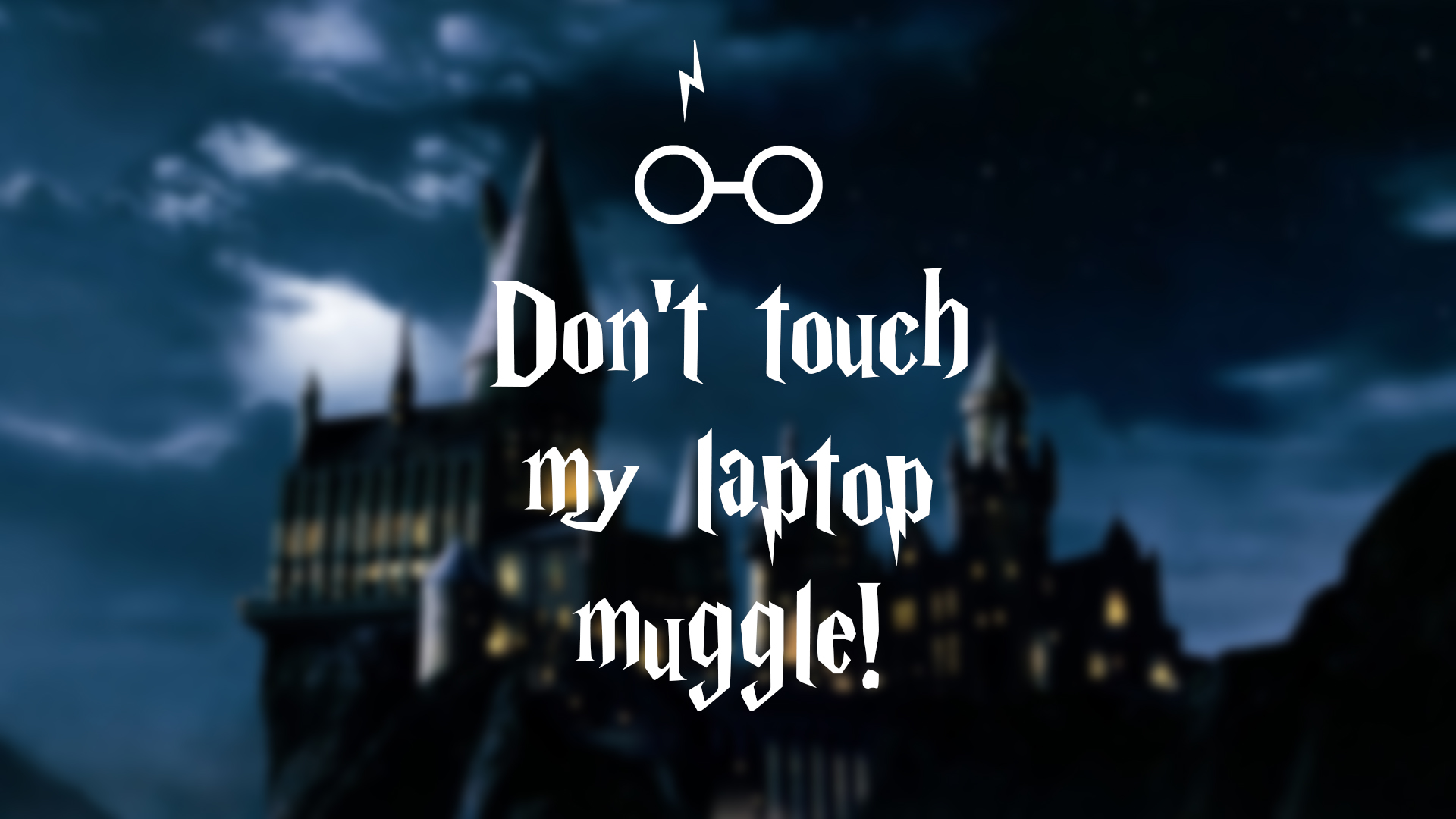 Must see Wallpaper Harry Potter Girly - harry_potter___laptop_wallpaper_muggle_by_nikital-d97d6v7  Trends_5925100.jpg