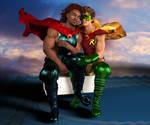 SuperHero Love 6 by joekr9