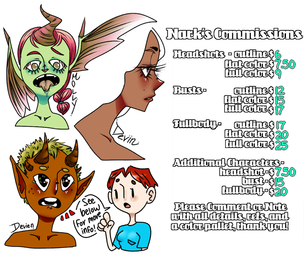 Commission Prices $$$ - UPDATED by Narkootikumid