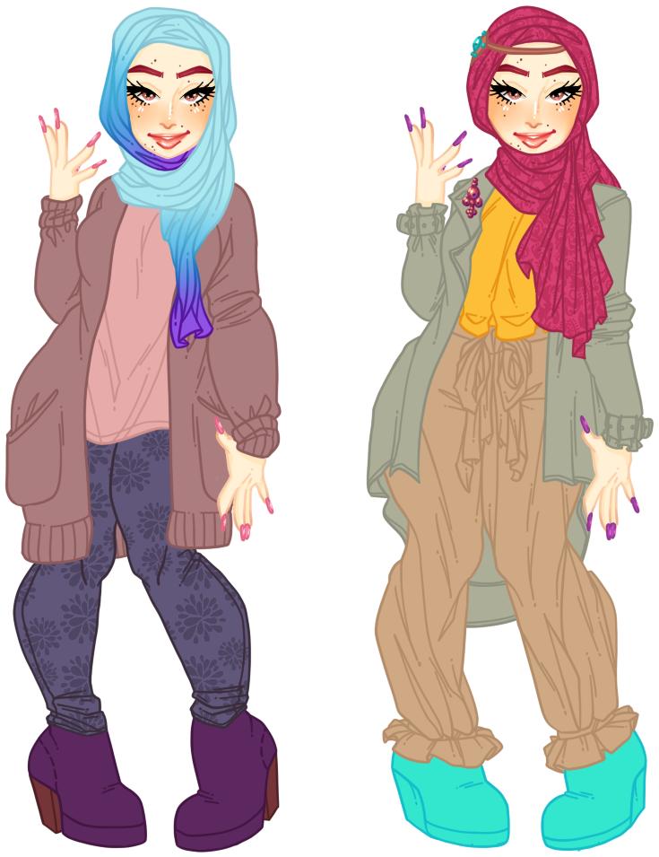 Hijab beauties by Narkootikumid