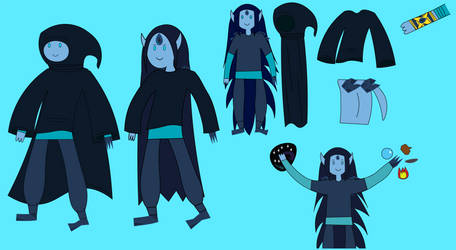 Adventure Time OC: Isrrael The Universal Wizard by Universe-Ocean-Blue