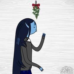 Mistletoe Meme: Isrrael by Universe-Ocean-Blue