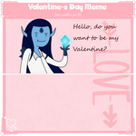 Adventure Time OC: Valentine Meme/Isrrael by Universe-Ocean-Blue