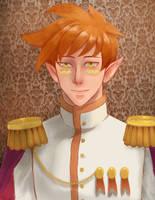 Portrait Of king Sol by yhowan