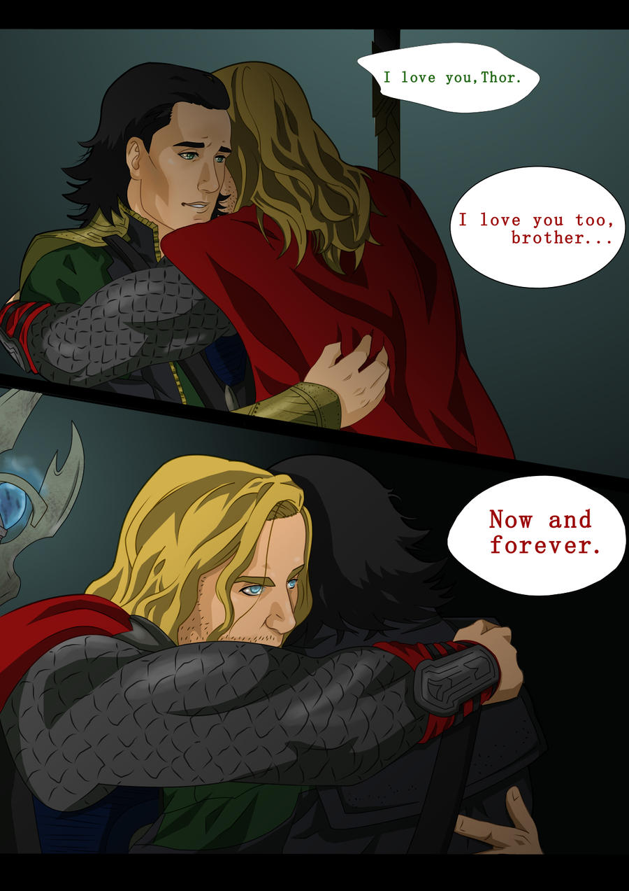 Loki and Thor by ironspectre