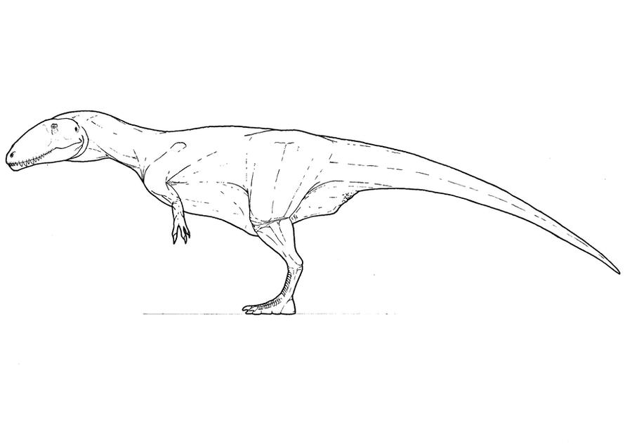carcharodontosaurus coloring page carcharodontosaurus wip by smnt2000 on deviantart