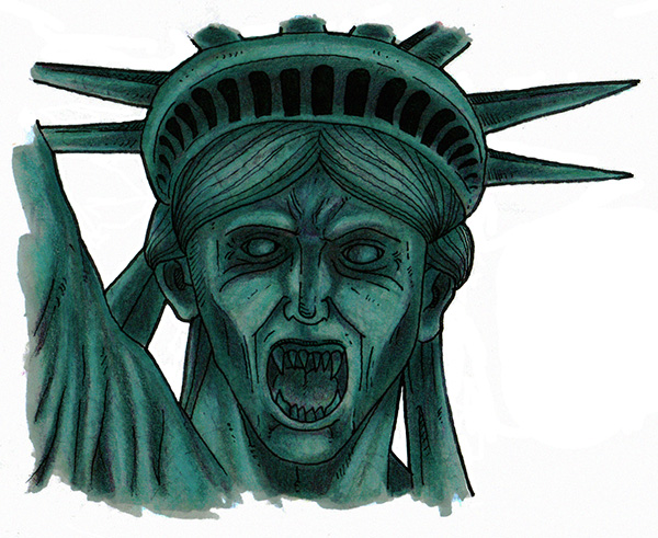 Weeping Liberty by Smnt2000