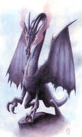Kev Walker Bestiary - Night Dragon