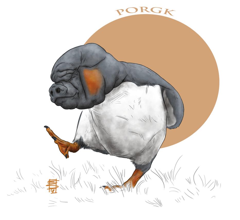 Star Wars_Porgk by Smnt2000