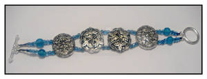 Ice and Silver Bracelet SOLD