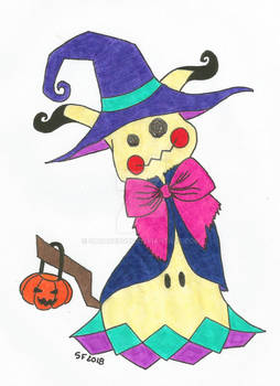Meanie's First Halloween by SavageFrog