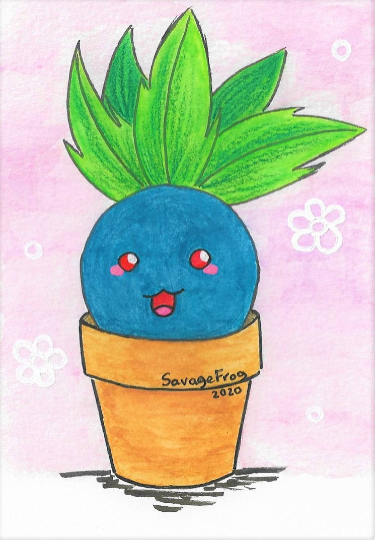 Happy Lil Oddish Friend