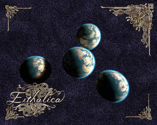 Eithalica Quadruple Planet (8x10) by PhosQuartz