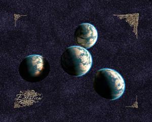 Eithalica Quadruple Planet (16x20)