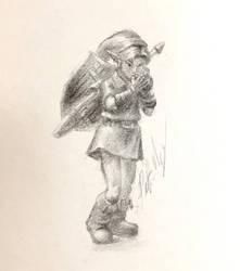 OoT Link Doodle