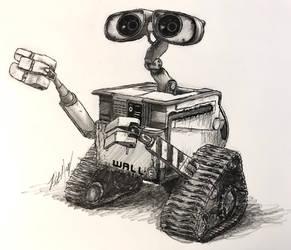 Wall-E Doodle