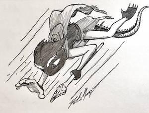 Phos Quartz Dive Doodle