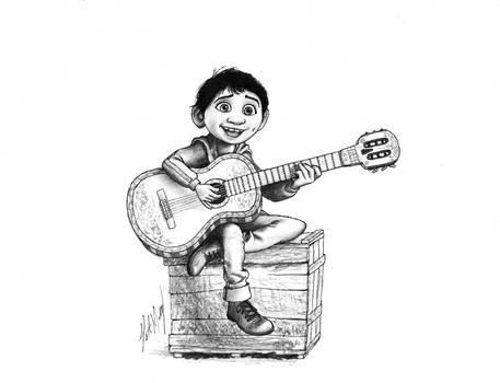 Miguel from Coco Fan Art