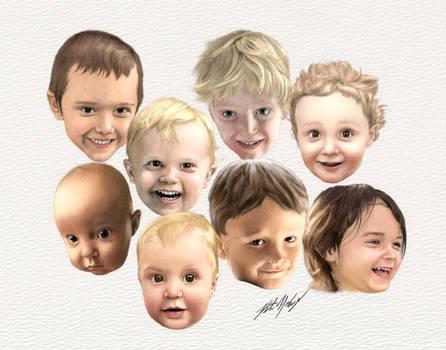 Grandkids Collage