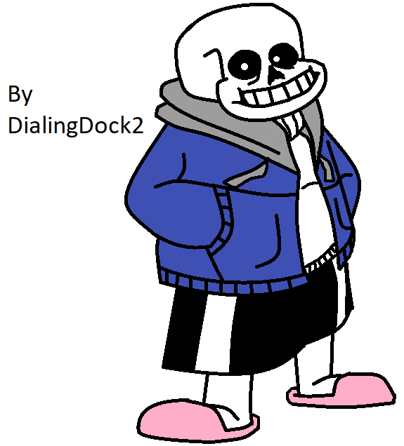 First Actually Good Sans Art On Ms Paint By Dialingdock2 On Deviantart