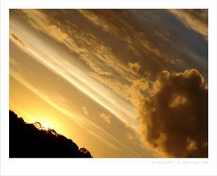 The sky is fallin I by KathiaRocha