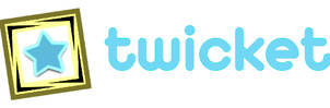 Twicket Logo by davidvkimball