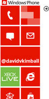 Windows Phone Background, Twitter