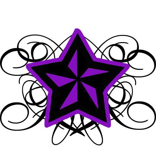 Swirled Nautical Star by heartsforward on deviantART