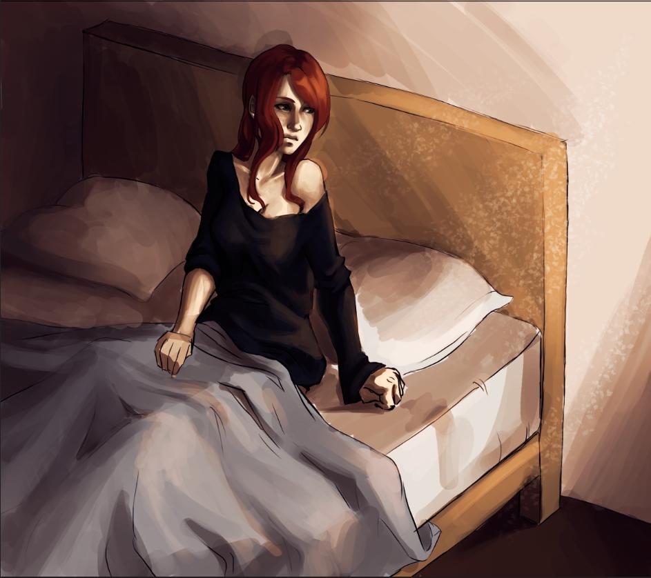 Waking up by Kakera-Art