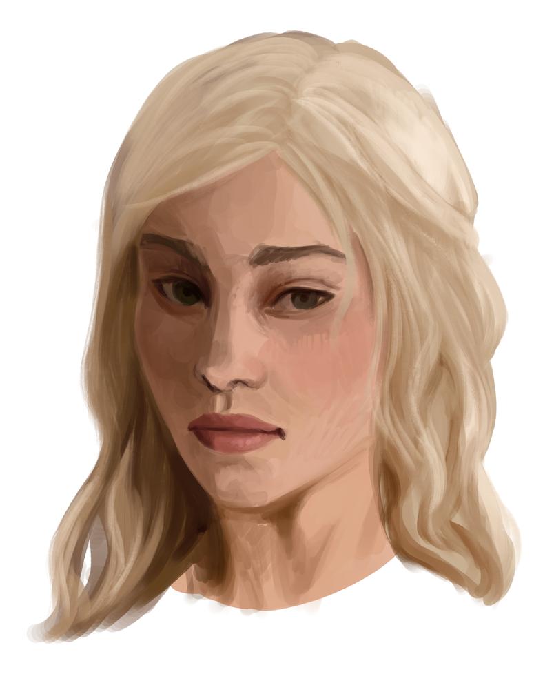 Daenerys Targaryen by Kakera-Art