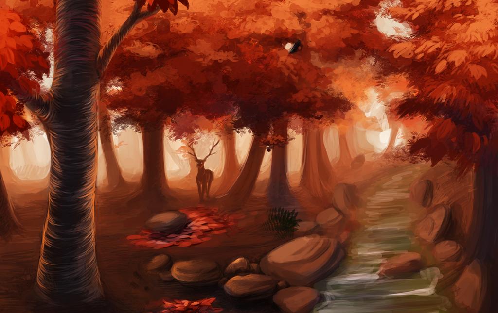 Fall by Kakera-Art