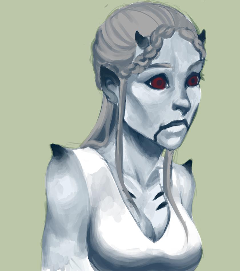 Red Eyes by Kakera-Art