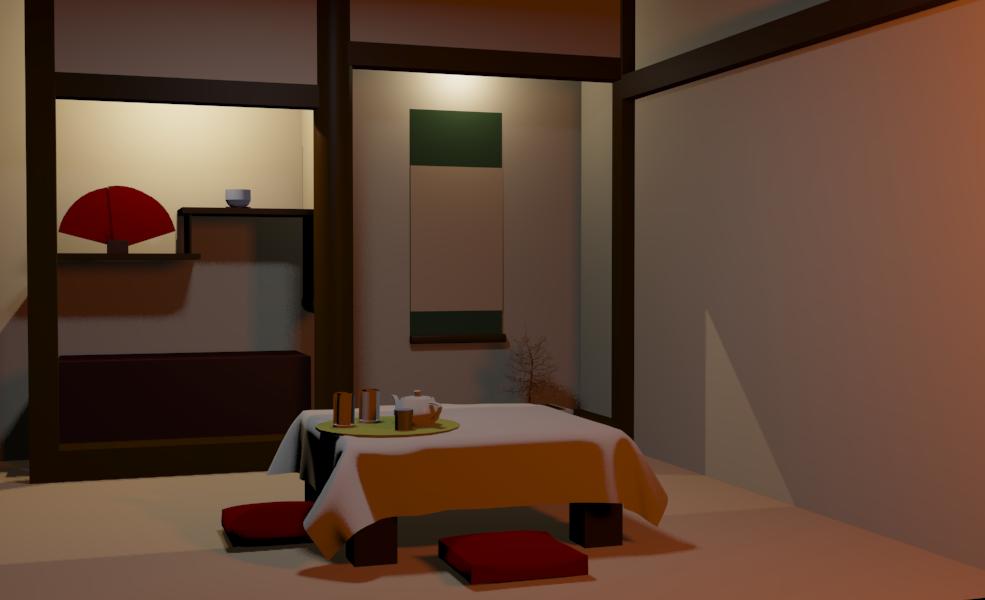 Japanese room by Kakera-Art