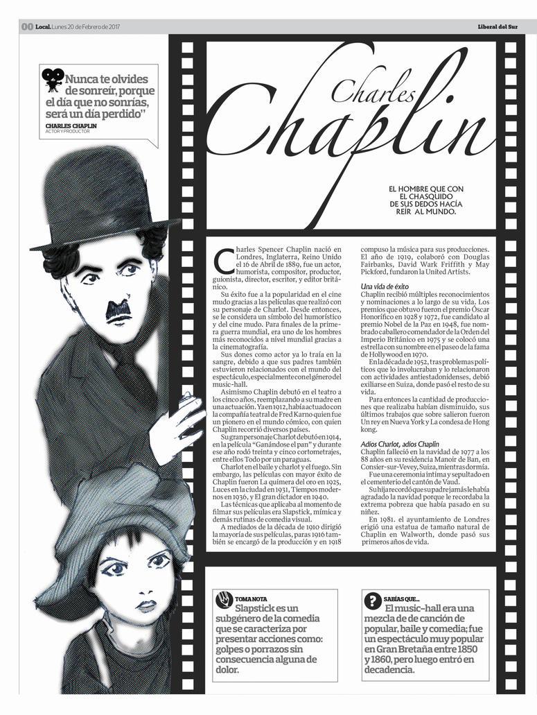 Chaplin un poco de su vida by Sollyspond
